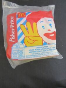 1997 Fisher Price McDonalds Happy Meal Under 3 Toy - Birdie Grimace House