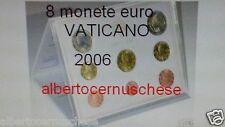 2006 8 monete 3,88 EURO fdc VATICANO BU Vatican KMS Vatikan Benedetto Benoit