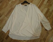 New and Unworn Peach Wrap Blouse from Capsule New Look UK Size 22