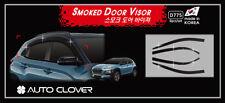 Smoke Tinted Weather shields 6p for Hyundai 2019 Hyundai KONA Iron Man Edition