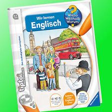 tiptoi® | WIR LERNEN ENGLISCH | Wieso? Weshalb? Warum? Ravensburger (Buch)