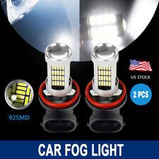 2x H11 H8 Super White 6000K 92SMD Auto LED Bulbs For Car Truck  Fog Lights Lamp