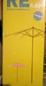 Room Essentials 7 ft Aluminum Umbrella Frame, Patio Umbrella Frame ~ New In Box