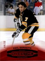 2015-16 Upper Deck Overtime Red #43 Phil Esposito LEG /99
