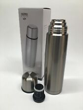 Thermos Nissan Vacuum Insulated 34 Ounce Compact Stainless Steel Beverage Bottle