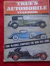 True's Automobile Yearbook #3 1954 RARE Antique Car Magazine