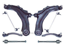 RENAULT GRAND SCENIC FRONT 2 WISHBONE ARMS LINKS OUTER & INNER TRACK ROD ENDS