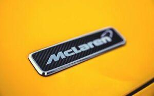 Genuine McLaren Carbon bonnet emblem badge 650S 675LT 570S 600LT 720S Senna