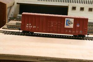 HO Scale Missouri Pacific NMRA 60 Years Commemorative box car