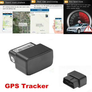 OBD GPS Tracker Live Realtime Vehicle Car Spy OBD2 Tracking Device GSM&GPRS