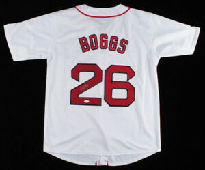 Wade Boggs Signed Boston Red Sox Jersey (JSA Hologram) 12×All-Star (1985–1996)