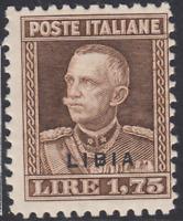 Italy Libia - Sassone n. 80 cv 170$  MH*