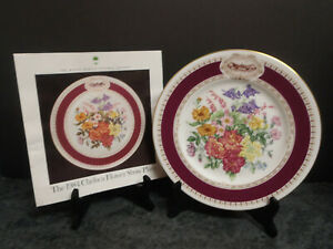 Minton 1984 Chelsea Flower Show Display Plate