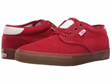 Vans Off the Wall Chima Estate Pro Scarlet Red Gum Suede Shoes Mens 11 Sneakers