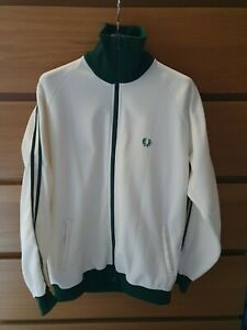 Fred Perry Vintage Track Jacket Twin Taped Sleeves Verh Good Condition