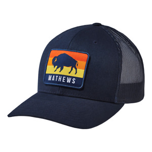"@NEW@ 2021 Mathews ""Buffalo"" Richardson 112 Hat/Cap archery compound bow hunting"