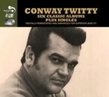 CONWAY TWITTY - 6 CLASSIC ALBUMS NEW CD