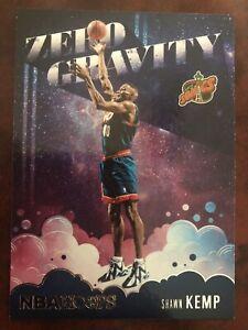 Shawn Kemp Seattle Supersonics NBA Hoops 20/21 Basketball Karte Zero Gravity