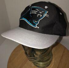 Vintage CAROLINA PANTHERS 90s Logo 7 Competitor Team NFL Black Hat Cap  Snapback c6158ccfd