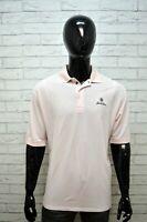 TOMMY HILFIGER Polo Camicia Uomo Taglia 2XL Herrenhemd Shirt Man Maglia a Righe