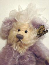 """""""Purple Passion"""" Annette Funicello Bear"""