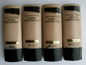 MAX FACTOR TOUCH PROOF Lasting Performance Foundation 35ml-X 1 ITEM VARIOUS