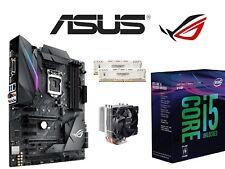 Actualización Set GAMING INTEL i5 8600k 6x 4,30ghz ✔ Asus Strix ROG z370-f 16gb