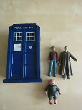 Doctor Who Figures & Working Tardis with Action & Sounds. BBC Sci-Fi Show