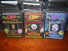 Big Scream TV Screen Halloween Prank Decoration Scary DVD Vol. 1 2 3 new sealed