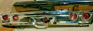 1971-1972 CHEVROLET CHEVELLE REAR BUMPER with lights