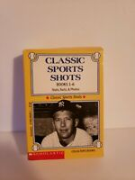 Scholastic Classic Sports Shots books  Ruth,Williams,Mays,Robinson,Gehrig,Mantle