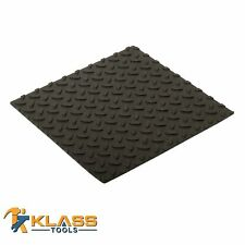 12 in. x 12 in. Self-Adhesive Rubber Safety Mat