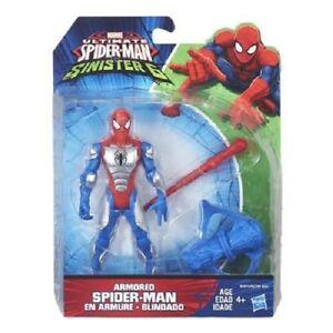 "NEW HASBRO SPIDER-MAN 6"" FIGURE ARMOURED SPIDER-MAN B5876"
