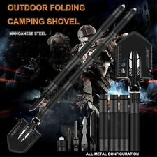 Military Survival Folding Shovel Multi Purpose Spade Outdoor Tactical Tools Kit