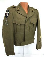 1949 Us 6th Army 2nd Infantry Division Enlisted Ike Jacket