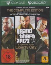 XBOX 360 e One Grand Theft Auto 4 IV GTA 4 COMPLETE NUOVO