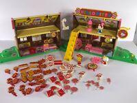 Vintage Rare Hello Kitty Toy SANRIO TOHO Smiling Bakery Candy House Collectible