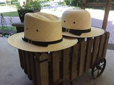 AMISH STRAW HAT SIZE MEDIUM Brand New