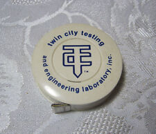 TWIN CITY TESTING AND ENGINEERING LABORATORY  ADV. ADVERTISING TAPE MEASURE   T*