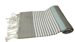 Extra Large 100%Turkish Cotton Beach Bath Pool Gym Spa Towel 72''X39'' L. BROWN