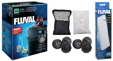 FLUVAL 406 REPLACES 405 FILTER PACKAGE WITH FREE EXTRA MEDIA. AUTHORIZED SELLER