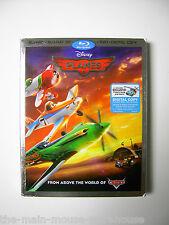 Disney Planes on Blu-ray 2D 3D DVD Digital Copy w/Top Ten Flyers Countdown Bonus