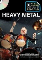 Play Along Drums Audio CD: Heavy Metal by Music Sales Ltd (Paperback, 2011)