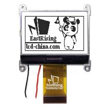"1.8"" 128x64,GLCD,Graphic LCD Module Display SPI Serial,ST7565P white Backlight"