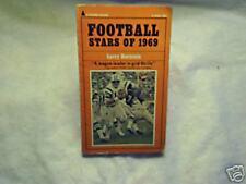 1969 FOOTBALL STARS OF 1969 Joe Namath gale sayers,ron mix,tommy nobis,d.maynard