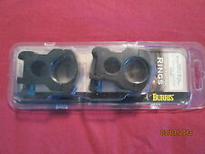 "Burris Xtreme Tactical Ring Pair 1"" Extra High Matte Black 420183"