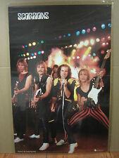 Scorpions rock n roll original Vintage Poster west germany printed 1610