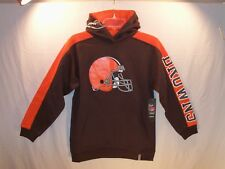 Cleveland Browns NFL Hoodie RBK Youth Large (14/16) NEW