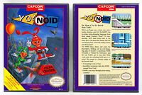 Yo! Noid - Nintendo NES Custom Case *NO GAME*
