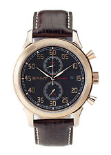 GANT BELMONT Rose Gold & S/Steel Luxury Gents Watch 2 Year Int. Warranty W10135